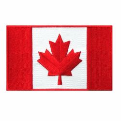Canada Flag Iron-on Patch-O Canada