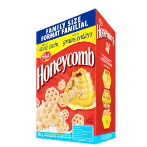 Post Honeycomb Cereal 595g (FAMILY SIZE)-O Canada