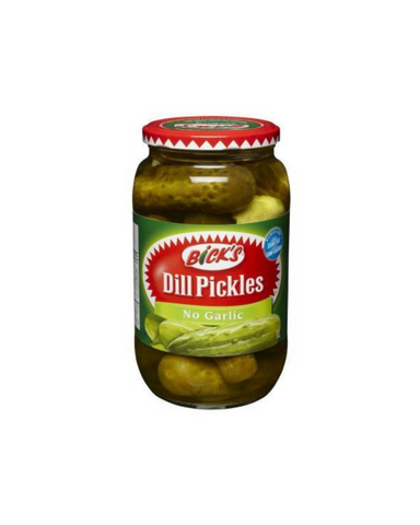 Bick's No Garlic Dill Pickles 1L