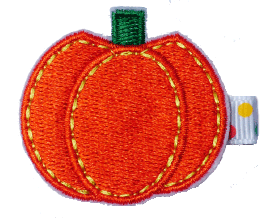 pumpkin hair clip, thanksgiving day