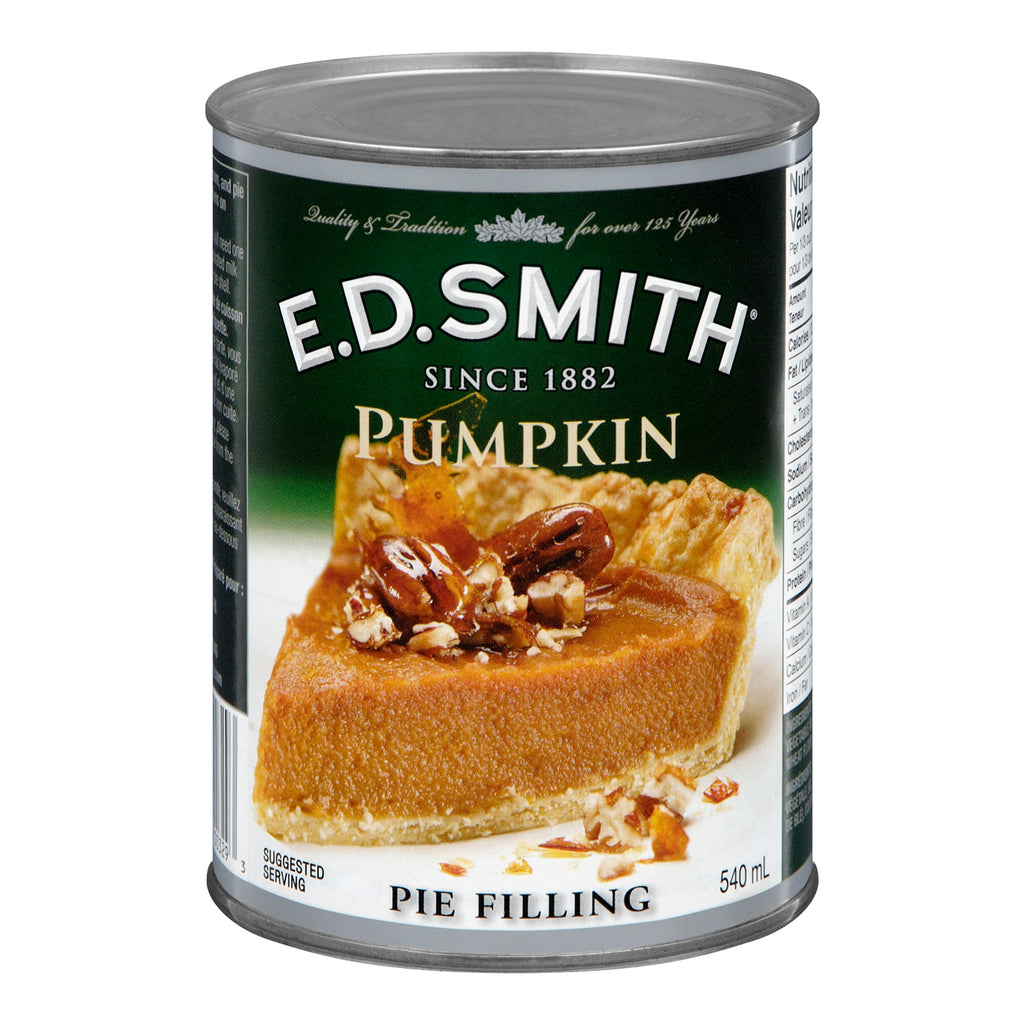 E.D. Smith Pumpkin Pie Filling 540mL-O Canada