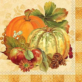 Pumpkin Harvest -  2 Ply Napkins -16