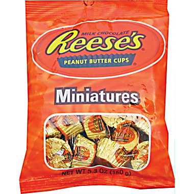 Reese's Miniatures Peanut Butter Cups 150g-O Canada
