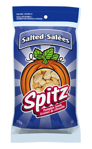 Spitz Pumpkin Seeds Salted 170g - Best Before 25 Sept 2018