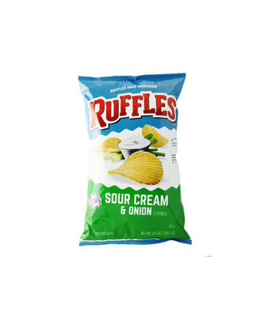 Ruffles Sour Cream and Onion 200g-USA