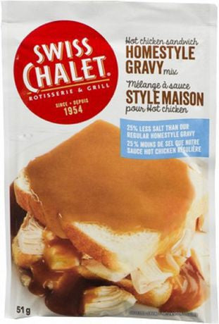 Swiss Chalet Homestyle Gravy Mix (51g)- less salt-O Canada