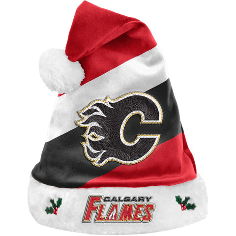Calgary Flames Plush Santa Hat