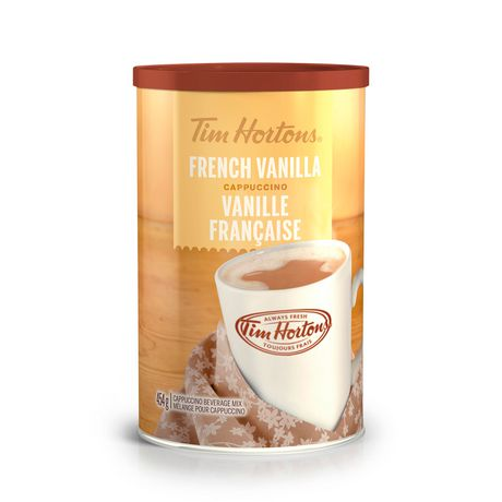 Tim Hortons Cappuccino French Vanilla 454g-O Canada