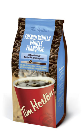 Tim Hortons Coffee French Vanilla 300g-O Canada