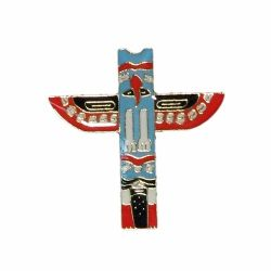 Lapel Pin - Canadian Totem Pole
