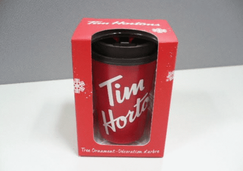 Tim Hortons cup Christmas Ornament