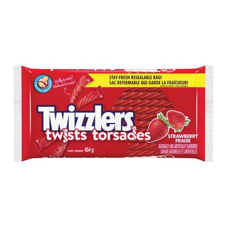 Twizzler Twists Strawberry-O Canada