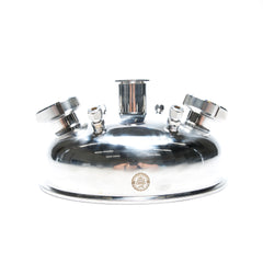 Rounded Compression Lid W/ Sight Windows