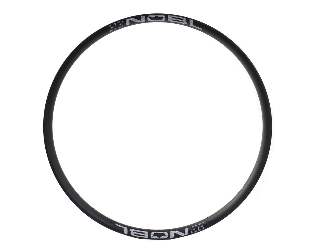 "NOBL Wheels TR33 650B/27.5"" Carbon Tubeless Mountain Rim"