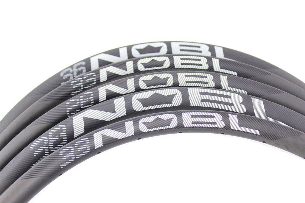 "NOBL Wheels TR38 650B/27.5"" Carbon Tubeless Mountain Rim"