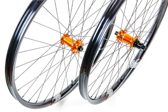 We Are One Composites Revolution Custom Wheelset w/ The Faction Rims
