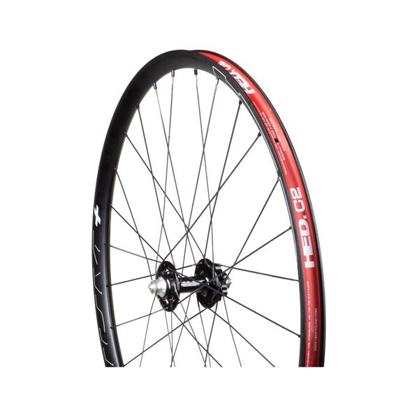 Chris King Built Wheelset - HED Belgium Plus Disc R45D 28/28