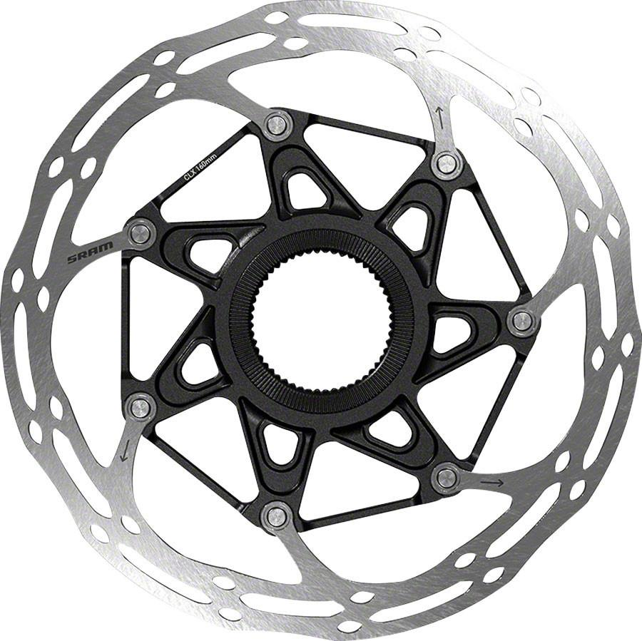 SRAM/Avid CenterLineX Center-Lock 160mm Rotor, No Lockring: Black