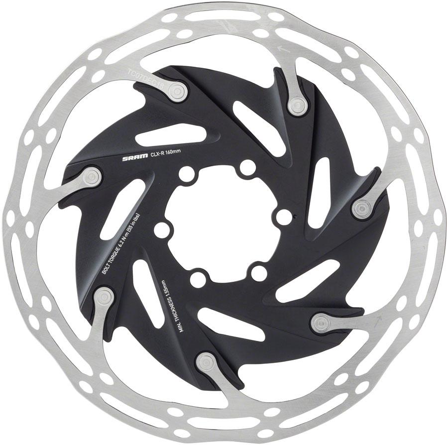 SRAM Centerline XR 2-Piece Rounded 6-Bolt Disc Rotor