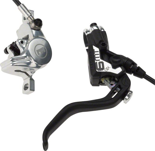 Magura MT6 Next Disc Brake and Lever Front or Rear with 2000mm Hose, Black/Silver