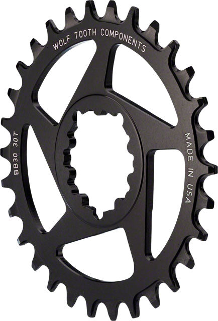 Wolf Tooth Direct Mount Drop-Stop 34t Chainring for SRAM Mountain GXP Cranks