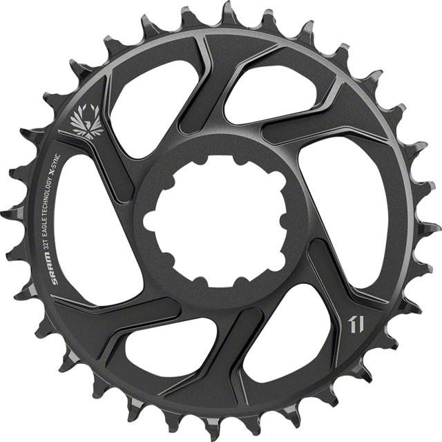 SRAM X-Sync 2 Eagle Chainring Direct Mount 3mm Offset Black Boost