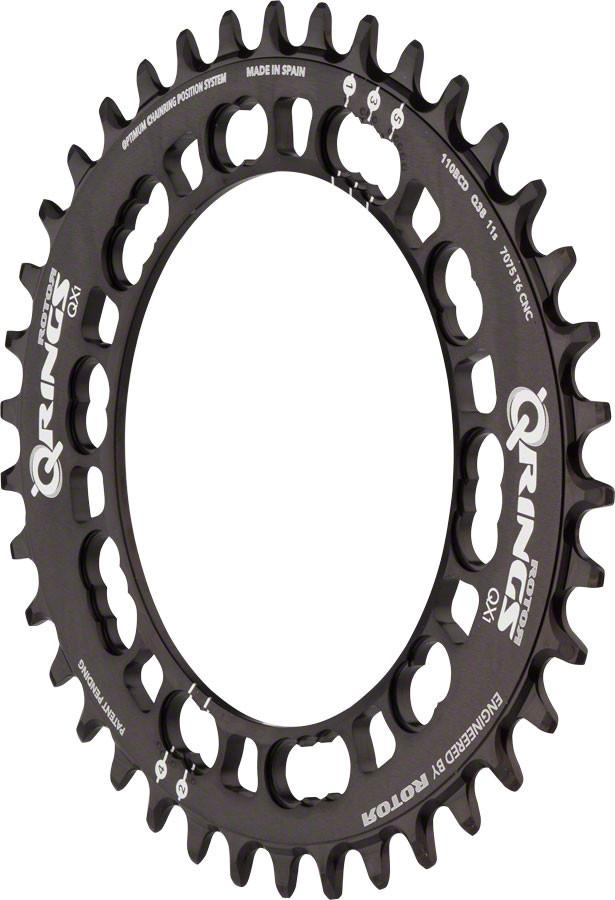 Rotor QCX1 Single Chainring: 44T x 110 BCD