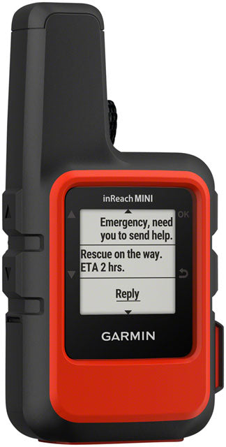 Garmin inReach Mini Satellite Communicator with GPS: Orange