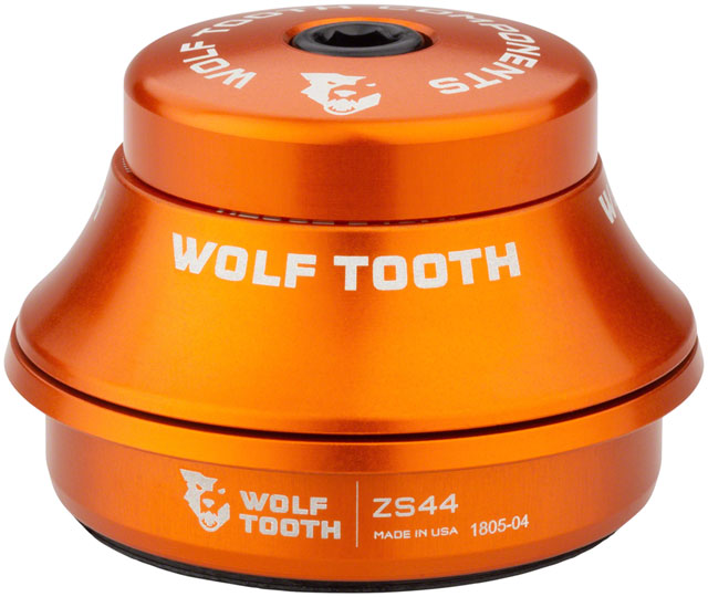 Wolf Tooth ZS44/28.6 Upper Headset 15mm Stack Orange