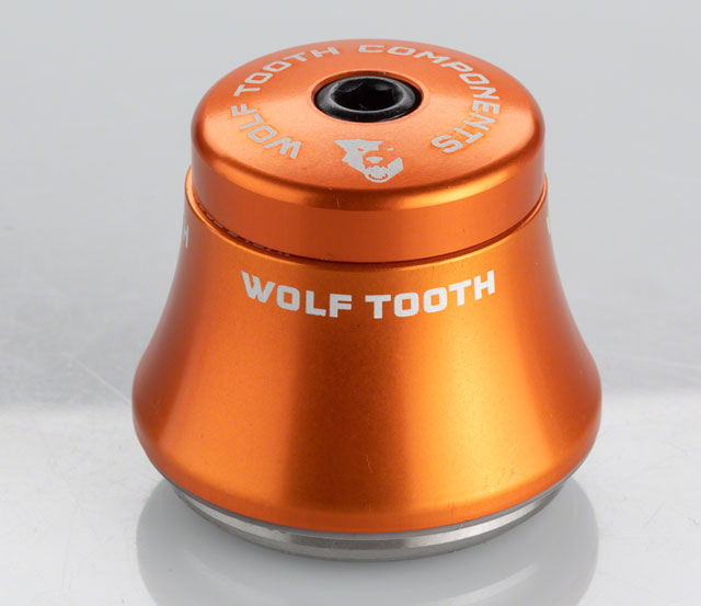 Wolf Tooth IS41/28.6 Upper Headset 25mm Stack Orange