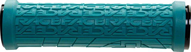 RaceFace Grippler Grips - Turquoise, Lock-On, 33mm