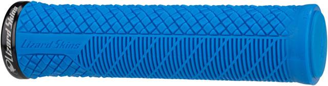 Lizard Skins Charger Evo Grips - Electric Blue, Lock-On