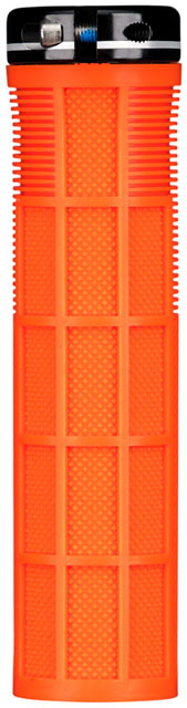 Deity Components Knuckleduster Grips - Orange, Lock-On