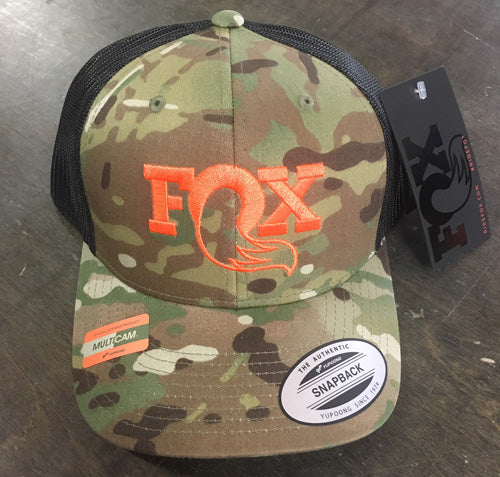 Fox MultiCam Trucker Snapback
