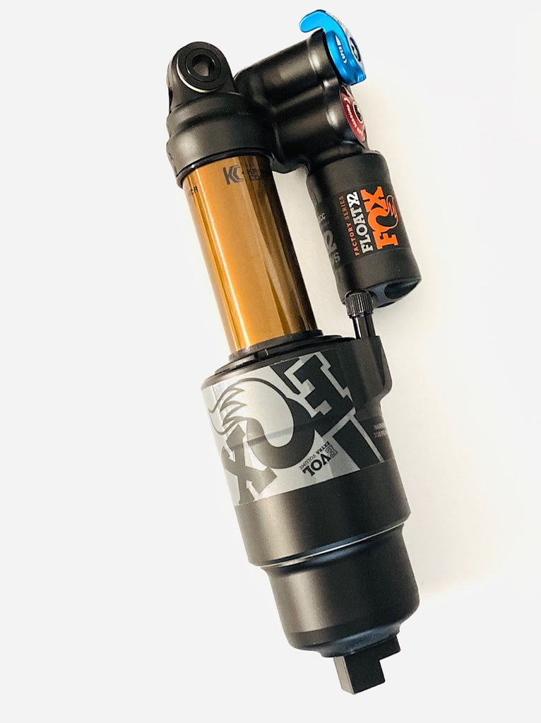 "FOX FLOAT X2 Factory Rear Shock - Standard, 8.5 x 2.25"", 2-Position, Kashima Coat, SBC Enduro"