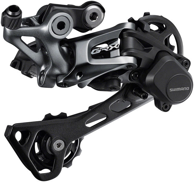 Shimano GRX RD-RX812 Rear Derailleur - 11-Speed, Long Cage, Black, With Clutch, For 1x