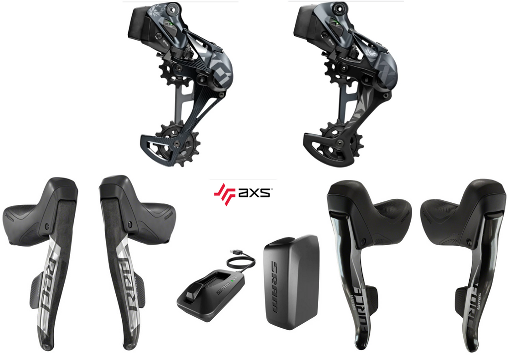 SRAM AXS Mullet DropBar Eagle Wireless Electronic 12-Speed Kit