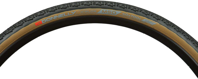 Donnelly Sports X'Plor MSO Tire - 700 x 40, Tubeless, Folding, Black/Tan