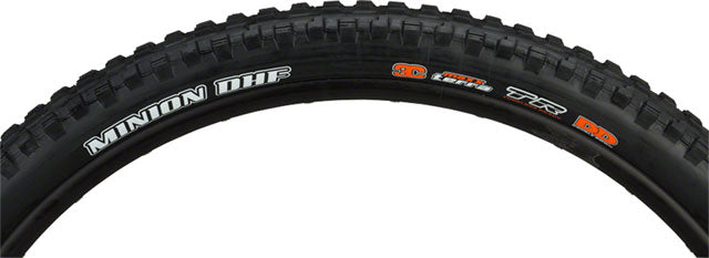 Maxxis Minion DHF Tire - 24 x 2.4, Tubeless, Folding, Black, Dual, EXO