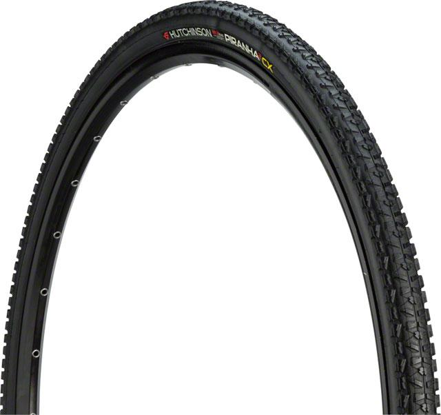Hutchinson Piranha 2 Cyclocross Tire 700 x 34mm Tubeless Protech'Air Max Folding Bead Black