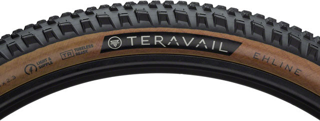 Teravail Ehline Tire - 27.5 x 2.3, Tubeless, Folding, Tan, Light and Supple
