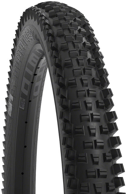 WTB Trail Boss Tire - 27.5 x 2.4, TCS Tubeless, Folding, Black, Light, Fast Rolling, TriTec, Slash Guard