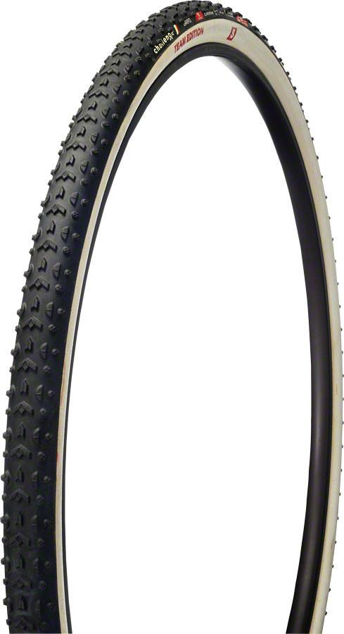 Challenge Grifo Team Edition S Tubular Tire: 700 x 33mm, 320tpi, Black/White