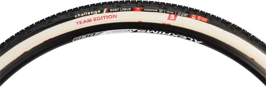 Challenge Baby Limus Tire Handmade Clincher Open Tubular 700x33 300tpi for sale online