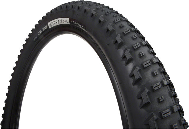 Teravail Coronado Tire - 27.5 x 3, Tubeless, Folding, Black, Durable