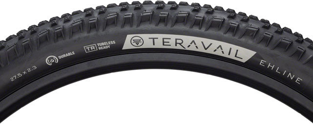 Teravail Ehline Tire - 27.5 x 2.3, Tubeless, Folding, Black, Light and Supple
