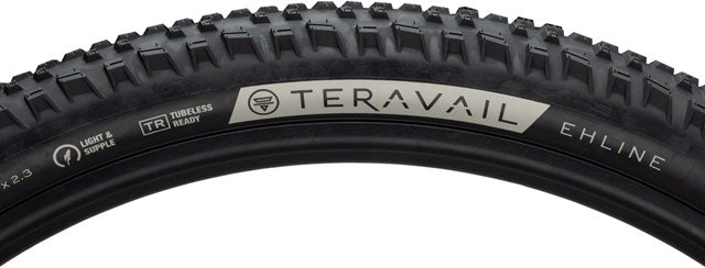 Teravail Ehline Tire - 29 x 2.3, Tubeless, Folding, Black, Durable