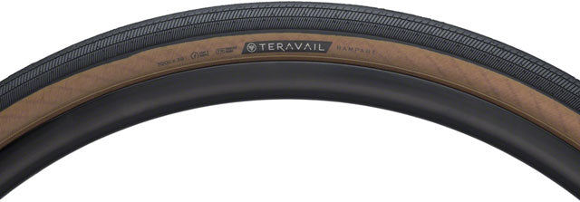 Teravail Rampart Tire - 700 x 38, Tubeless, Folding, Tan, Light and Supple