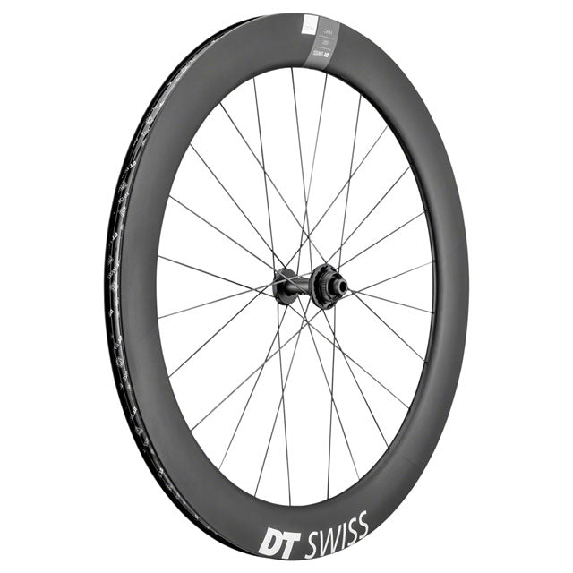 DT Swiss ARC1400 DiCut Front Wheel - 62mm, 700c, 12 x 100mm, Centerlock, Black