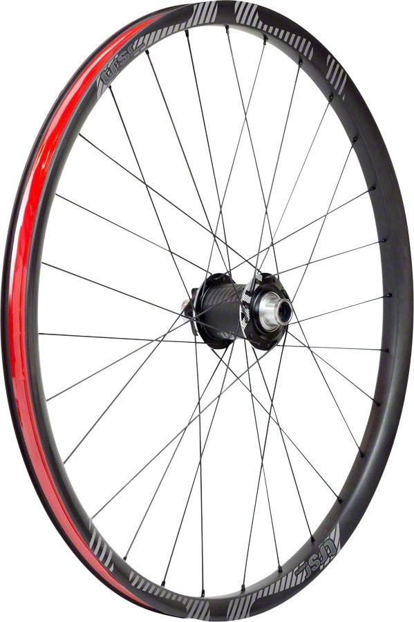 "e*thirteen TRS Race Carbon Front Wheel 27.5"" 100x15mm Tubeless, Black"